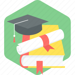 certificate, certification, degree, degrees, diploma, education icon