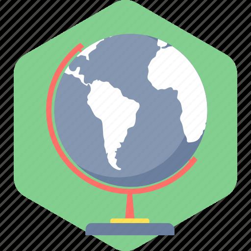 globe, world, worldwide icon