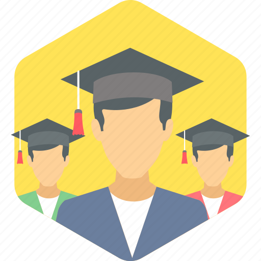 graduate, graduation, student icon