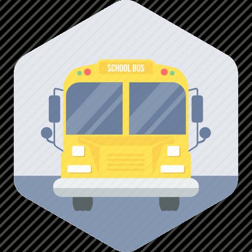bus, school, transport, transportation, van icon