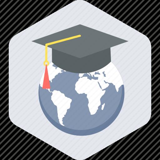 education, globe, learning, world icon