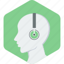 audio, learning icon