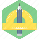 drawing, geometry, tool icon