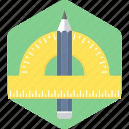 drawing, geometry, tool icon