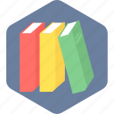 book, books, education, library, study icon