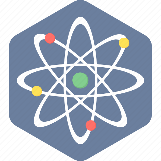 atom, chemistry, laboratory, physics, research, science icon