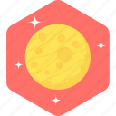 astronomy, earth, globe, planet, satellite, space, spaceship icon