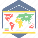 country, location, map, world icon