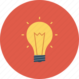 energy, idea, light, lightbulb icon icon