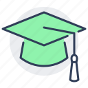 cap, college, graduation, hat, school, university