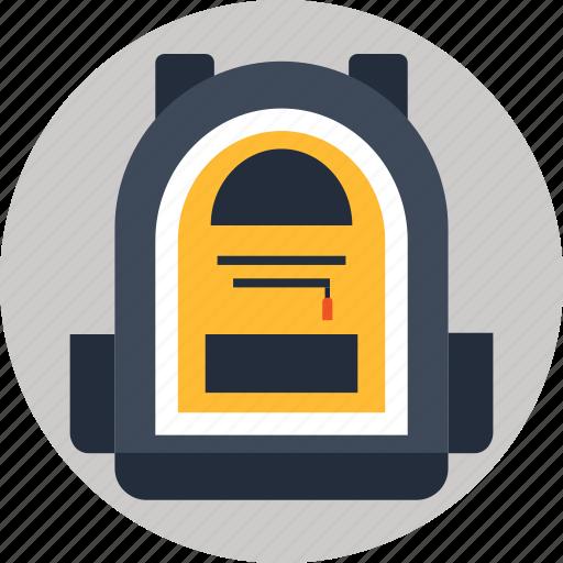backpack, knapsack, rucksack icon