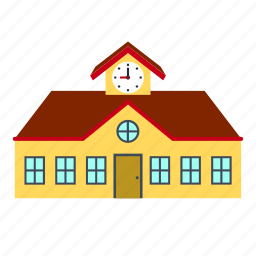 building, college, education, house, school, university icon