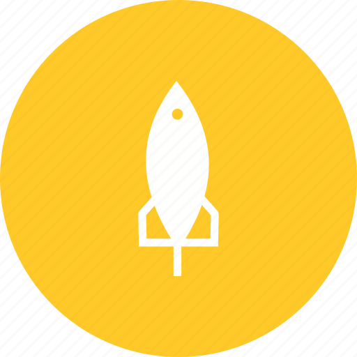 launch, rocket, ship, shuttle, space, travel icon