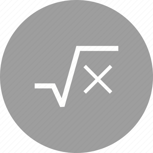 algebra, equation, equations, quadratic, root, roots, square icon