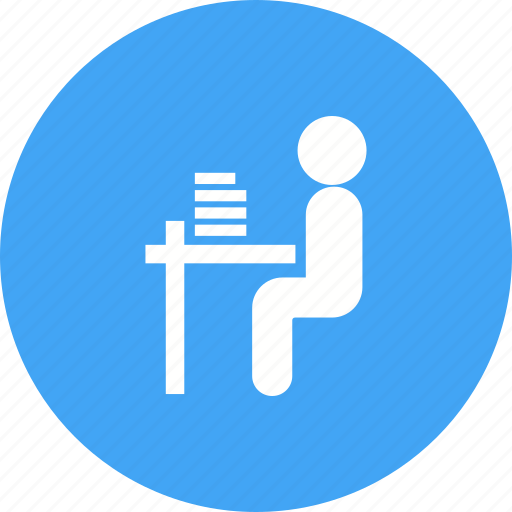 class, classroom, education, sitting, student, students, training icon
