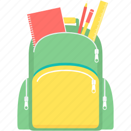 bag, book, education, learning, school, student, study icon