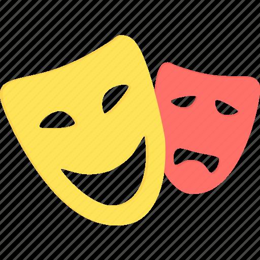 art, artist, comedy, creative, design, drama, mask icon
