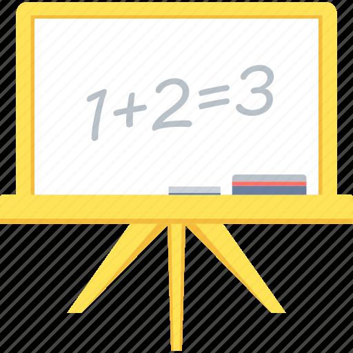 board, calculator, education, learning, math, maths icon
