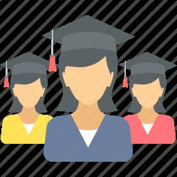 degree, diploma, education, graduate, graduation, student, university icon