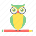 class, classes, owl, smart, smart class, solution, teacher icon
