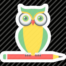 class, classes, owl, smart, smart class, solution, teacher icon