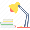 energy, lamp, light, power, study, studytable, table icon