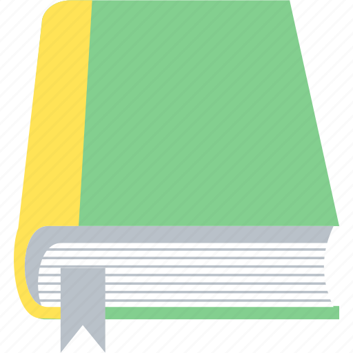book, bookmark, education, learning, notebook icon