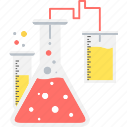 chemistry, flask, lab, laboratory, research, science, test icon