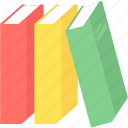 address, book, books, education, knowledge, library, read icon