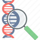 dna, genetics, healthcare, medical, molecule, science icon
