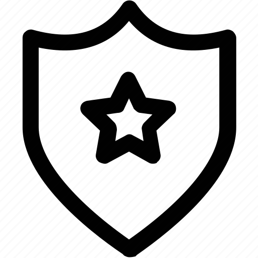 badge, insignia, military badge, prize, shield, shield award icon