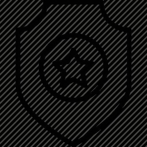 badge, military badge, police badge, sheriff, shield icon