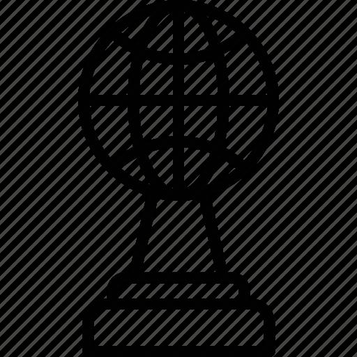 champion, global award, global trophy, international award, winning award icon