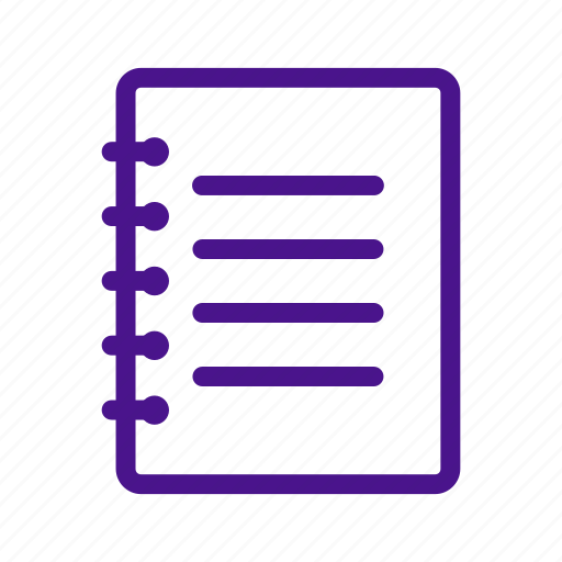 document, education, learning, note, page, school, write icon