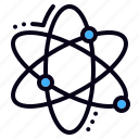 atom, network, science