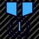 achievement, award, medal
