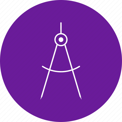 compass, divider, geometry icon