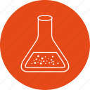 beaker, experiment, flask, solution icon