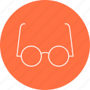 experiment, experimental, glasses icon