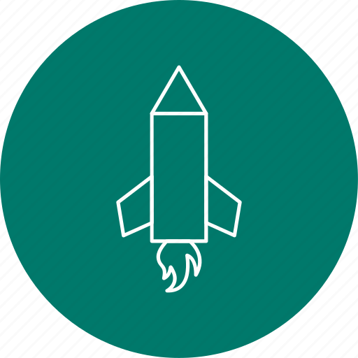 pencil rocket, rocket, science icon