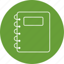 book, education, note, pad icon