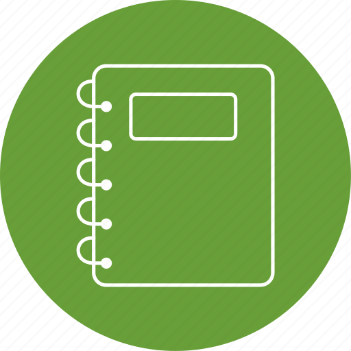 book, education, notepad icon