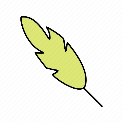 calligraphy, feather, quill icon
