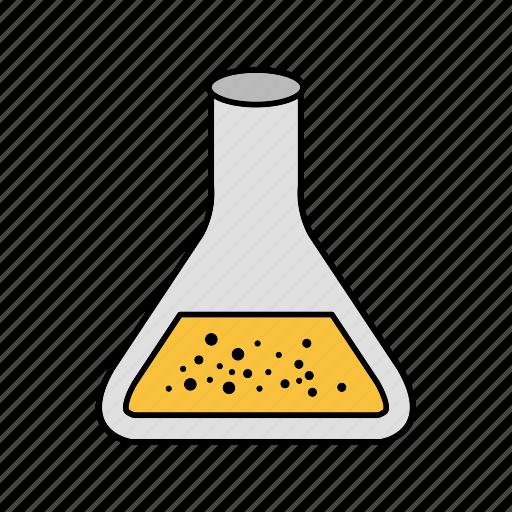 beaker, experiment, flask icon
