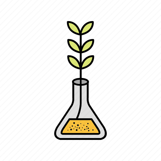 experimental growth, growth, plant icon