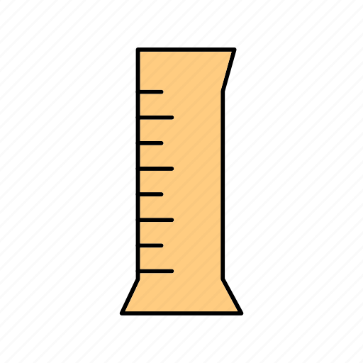 beaker, cylinder, tube icon