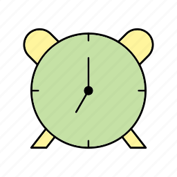 clock, notification, time icon