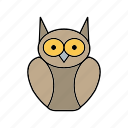 degree owl, graduate, graduation, owl icon