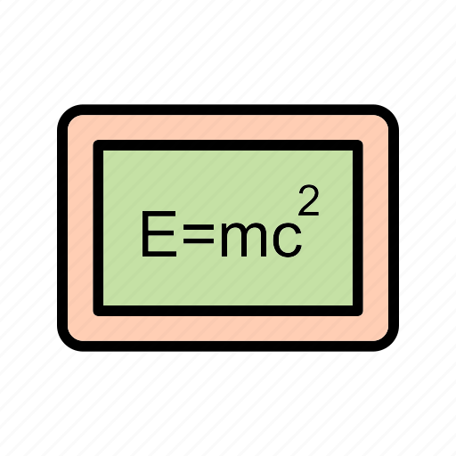 education, formula, knowledge, mathematical, mathematics icon