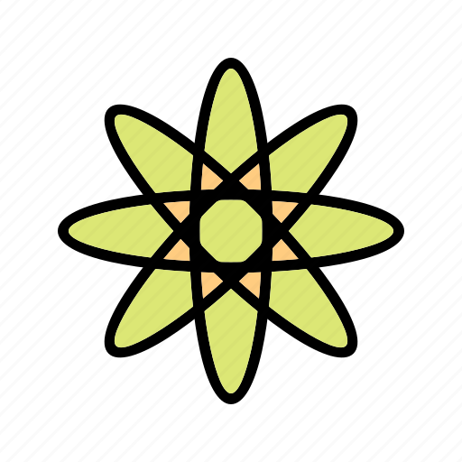 atom, education, energy, physics, structure icon